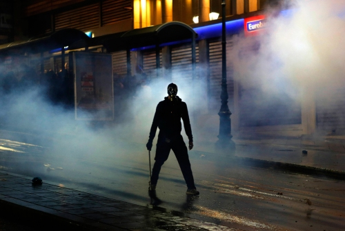 Protestas en Europa en 2012, Grecia Fuente: The Big Picture - Boston.com