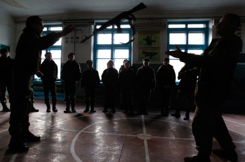 Escuela de Cadetes, Rusia Fuente: The Big Picture - Boston.com