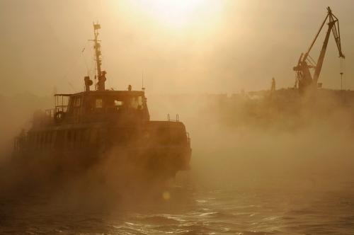 Puerto de Sebastopol, Crimea Fuente: The Big Picture - Boston.com