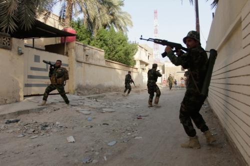 entrenamiento iraqui